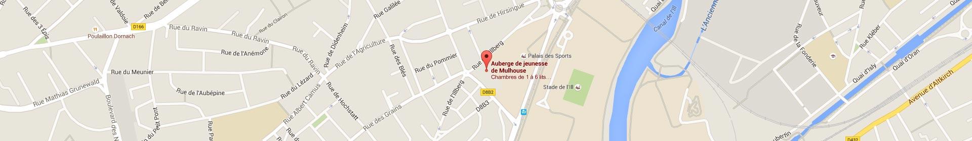 Trouvez l'auberge de jeunesse sur Mulhouse et optez pour un hébergement pas cher destiné aux familles et aux groupes scolaires