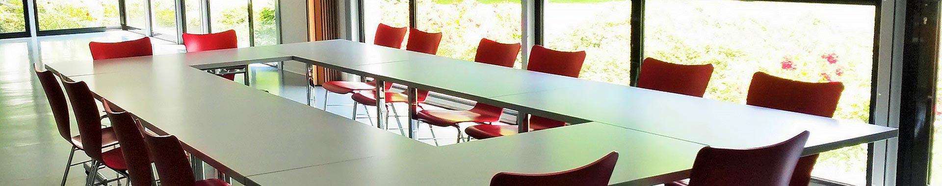 Salle réunion organisation séminaire Auberge de Jeunesse de Mulhouse